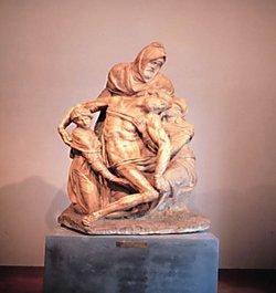 Duomo Museum-Michelangelos Late Pieta
