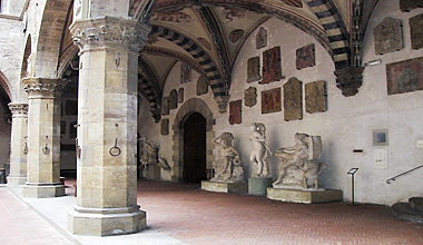 Bargello-Courtyard