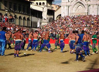 The Florentine - Calcio Storico