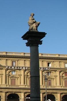 Piazza della Republica-Column of Abundance