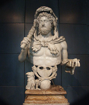 Pitti Palace-Bust of Commodus