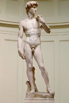 Accademia-Michelangelo's David