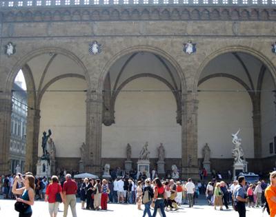 Piazza della Signoria-Statue Garden