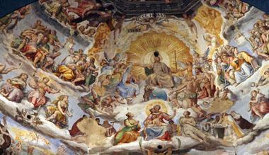Santa Maria del Fiore-Ceiling Fresco
