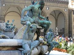 Piazza della Signoria-Fountain