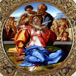 Uffizi-Michelangelo's Holy Family