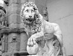 Florence Italy Sights-Lion