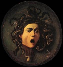 Uffizi-Caravaggio's Medusa