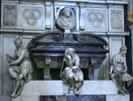 Florence Piazzas-Michelangelo's Tomb