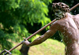 Boboli Gardens-Fountain of Neptune