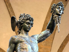 Florence Italy Travel- Perseus