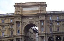 Florence Piazzas-Piazza Republica