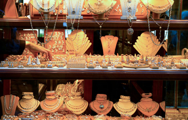 Florence Shopping-Ponte Vecchio Gold Store