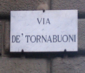 Florence Shopping-Via de' Tornabuoni