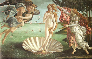 Uffizi-Botticelli's Birth of Venus