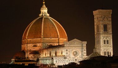 Florence Italy Travel- Duomo at night