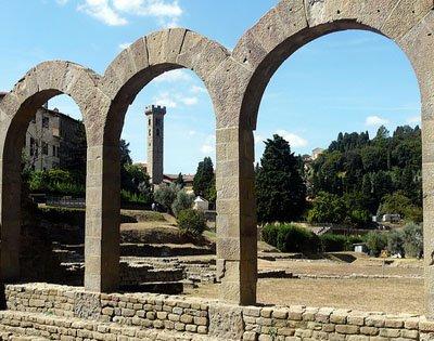 Fiesole-Roman Ruins