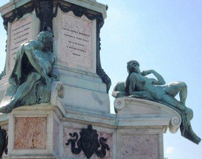 Piazzale Michelangelo-Statue