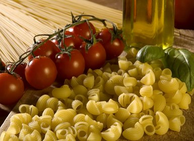 Florence Restaurants-Pasta and Tomatoes