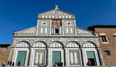 Florence Italy Sights-San Miniato