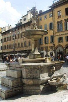 Florence Piazzas-Piazza Santa Croce