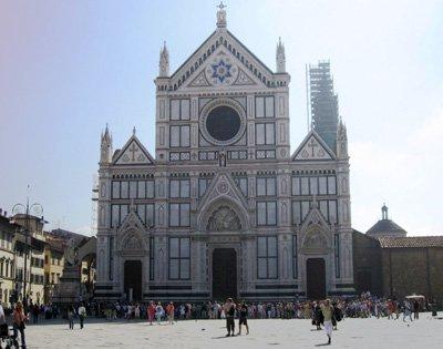 Piazza Santa Croce-Santa Croce Basilica