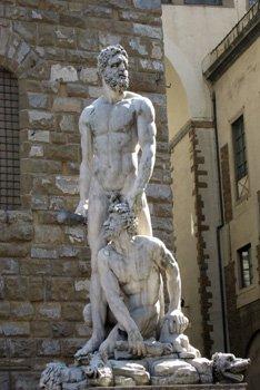 Piazza della Signoria-Statue