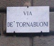 Florence Shopping-Via de' Tornabuoni